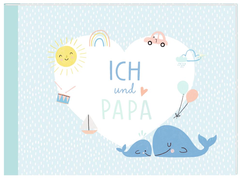 Kleines Eintragheft: Ich und Papa