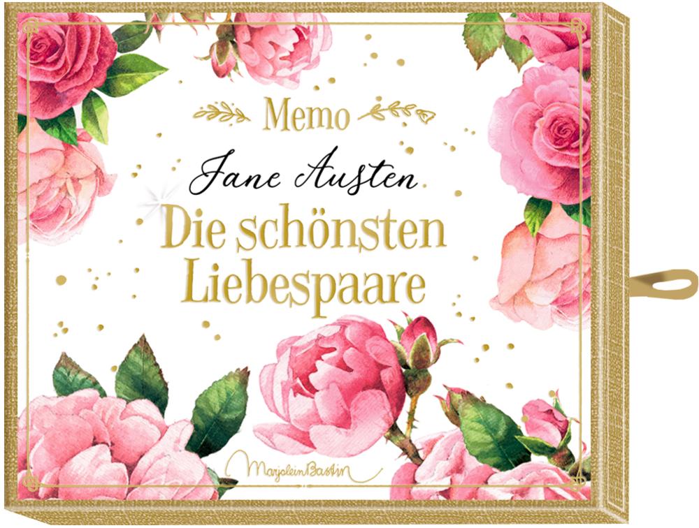 """Schachtelspiel Memo - Jane Austen """"Liebespaare"""" (M. Bastin)"""