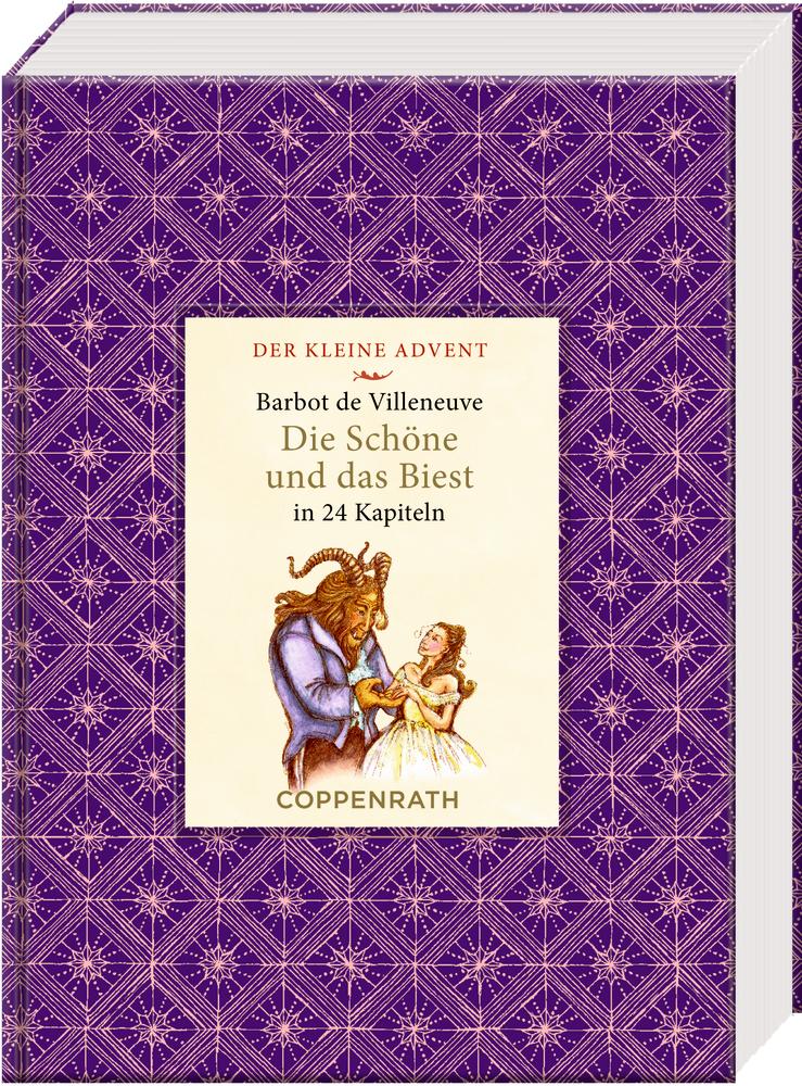 Der kleine Advent: Die Schöne und das Biest in 24 Kapiteln