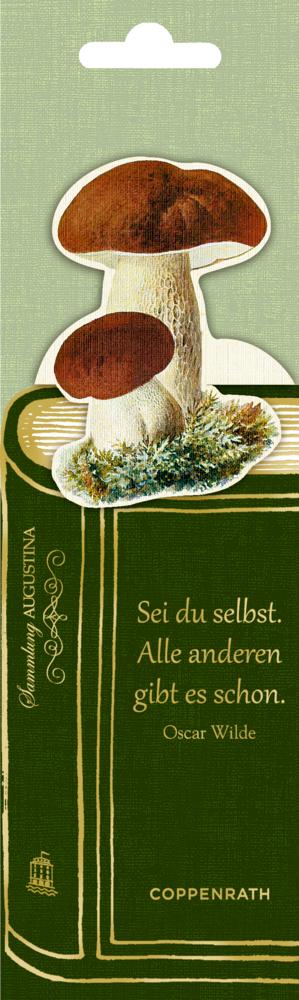 Lesezeichen mit Botschaft - Sammlung Augustina