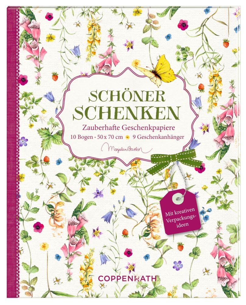 Geschenkpapier-Buch - Schöner schenken (Bastin)