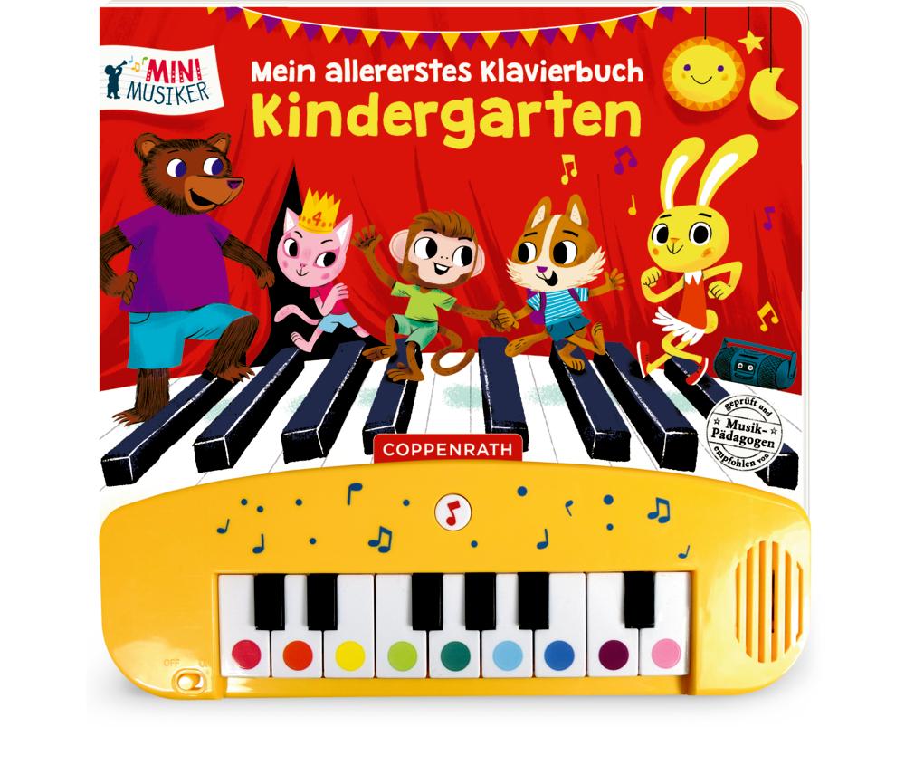 Mein allererstes Klavierbuch: Kindergarten (Soundbuch)