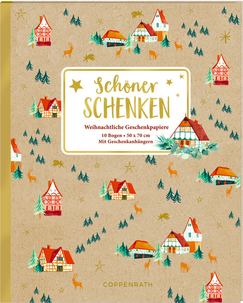 Geschenkpapier-Buch - Schöner Schenken (Weihnachtlich)