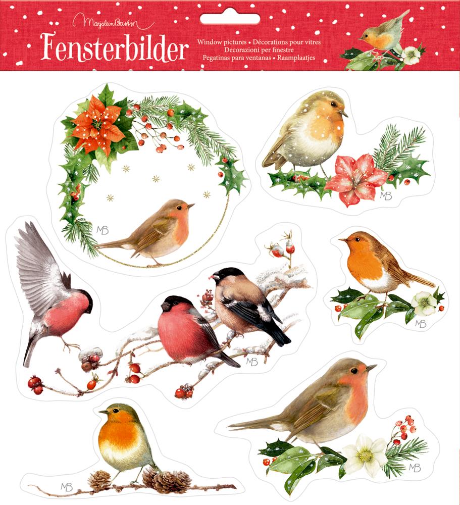Fensterbilder Zauberhafte Weihnachten M.Bastin