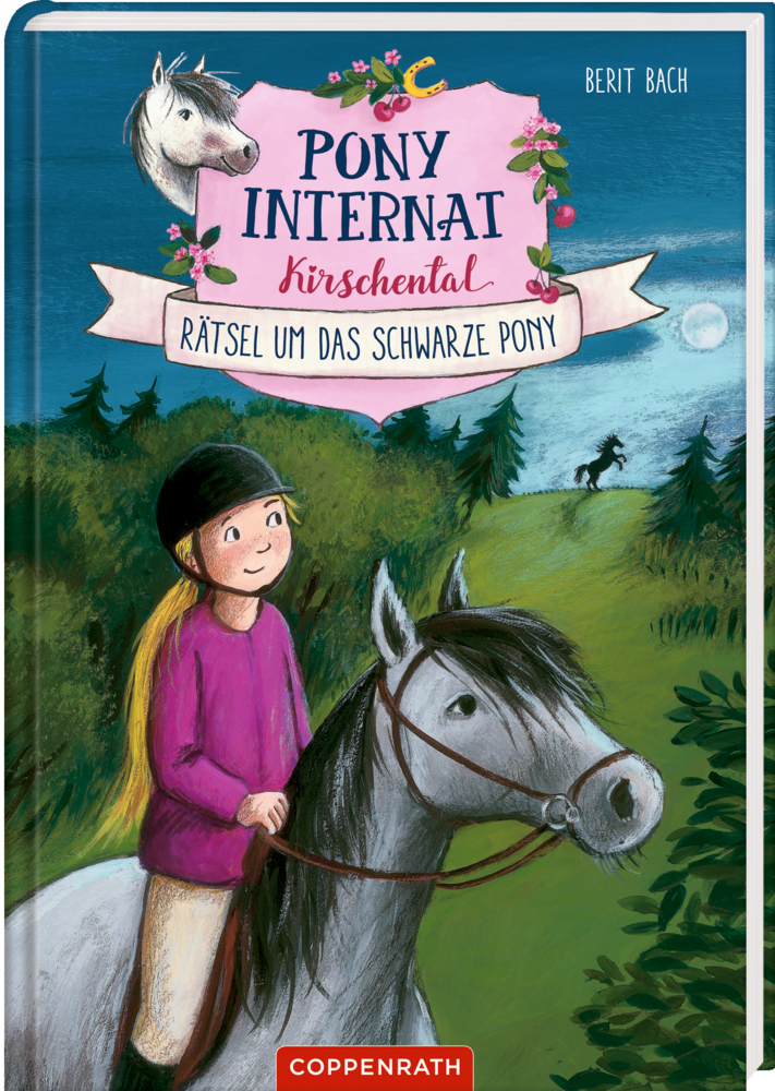 Pony-Internat Kirschental (Bd.3) Rätsel um das schwarze Pony