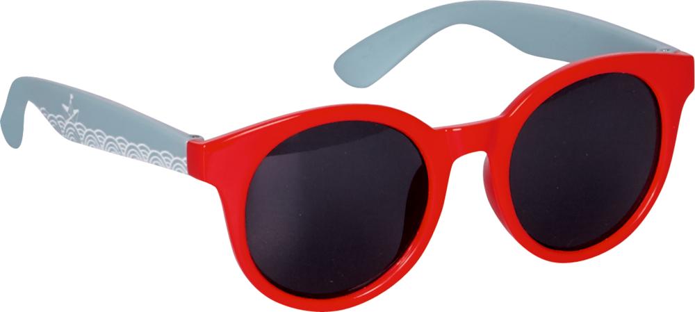 rote Sonnenbrille Reisezeit Kids (UV 400 Schutz)