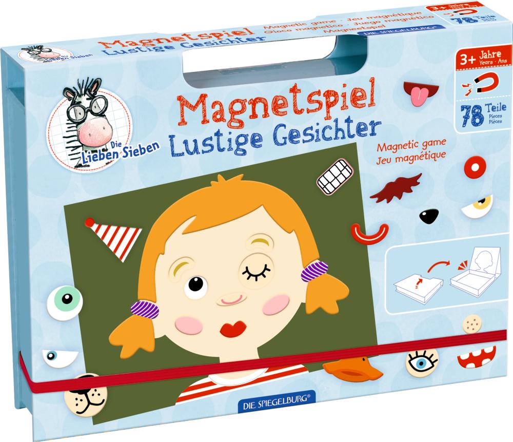 Magnetspiel Lustige Gesichter Die Lieben Sieben