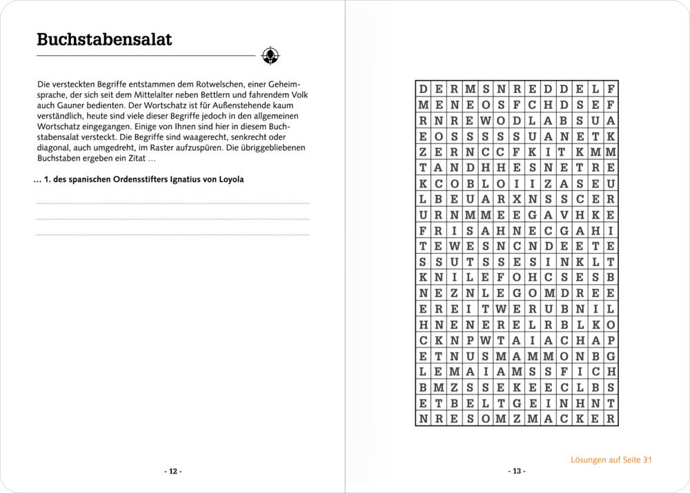 Rätselheft: Rätsel to go - Quiz (Urban&Gray)