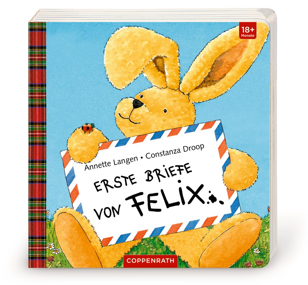 Erste Briefe von Felix (Pappbilderbuch mit Klappen)