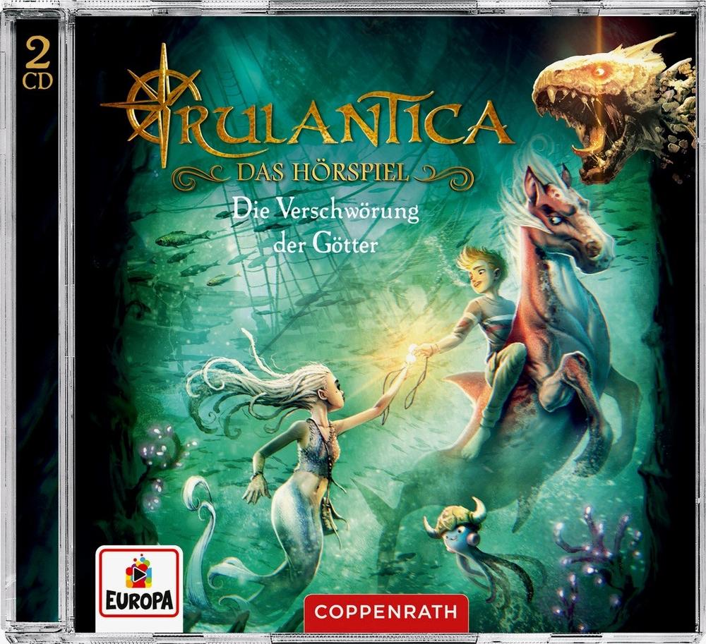 Hörspiel 2CDs: Rulantica (Bd.2) - Die Verschwörung d. Götter