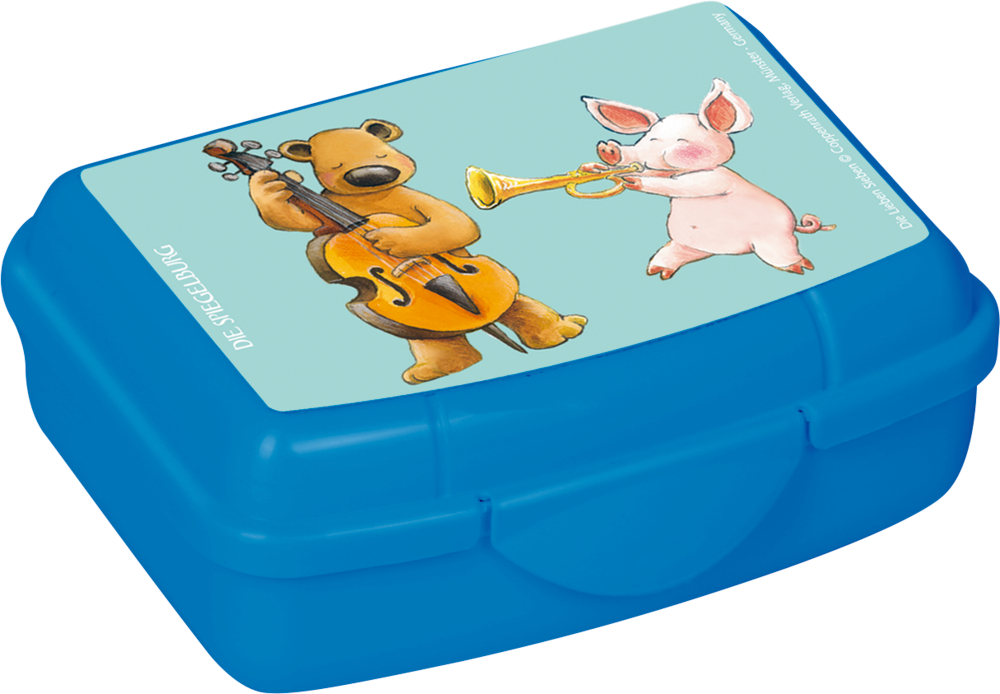 """Mini-Snackbox """"Bruno mit Bass"""" Die Lieben Sieben"""