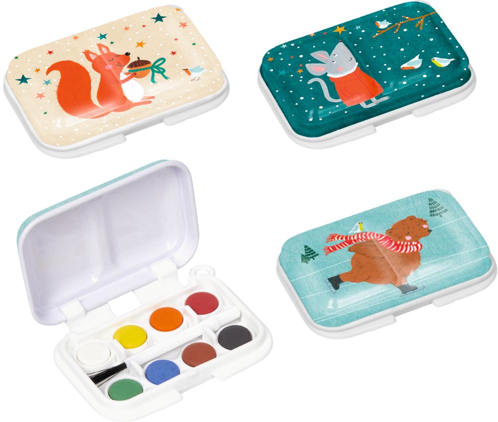 Mini-Malkasten - Bärenstarke Weihnachten