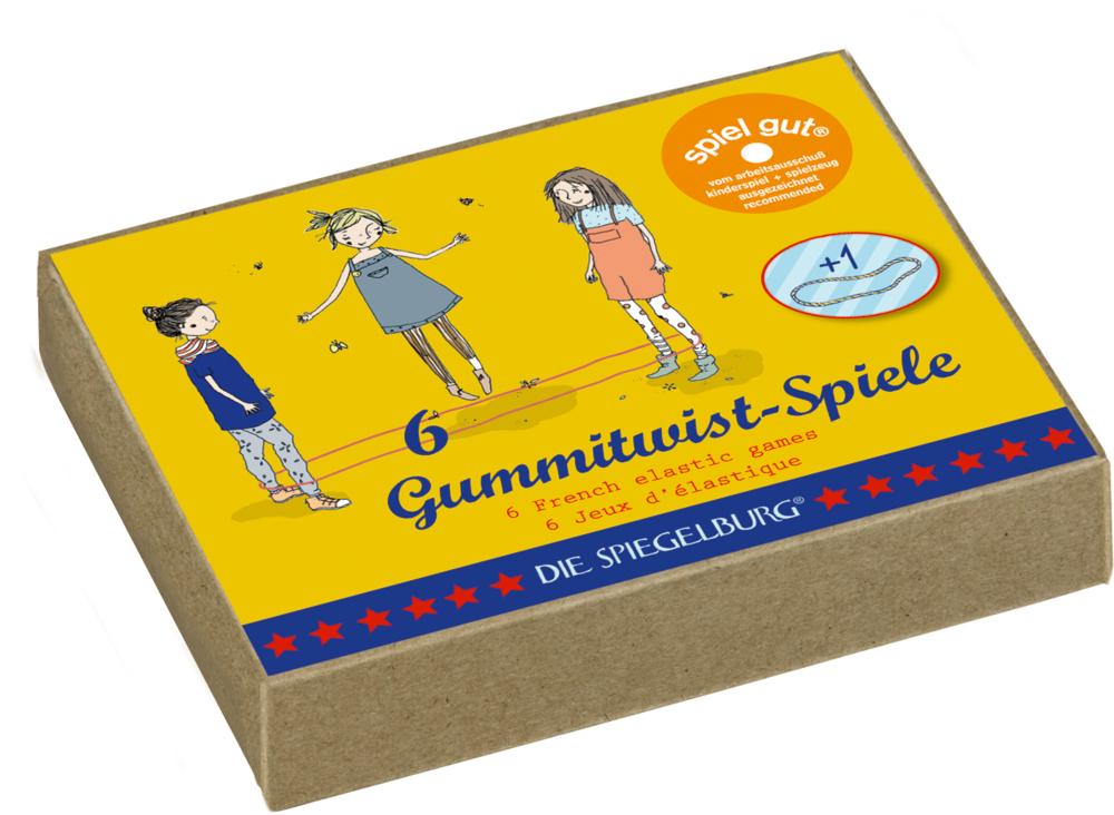 Gummitwist-Spiele Bunte Geschenke
