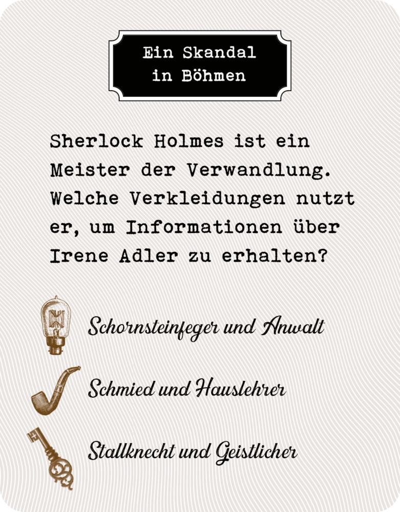 Sherlock Holmes - Das Quiz