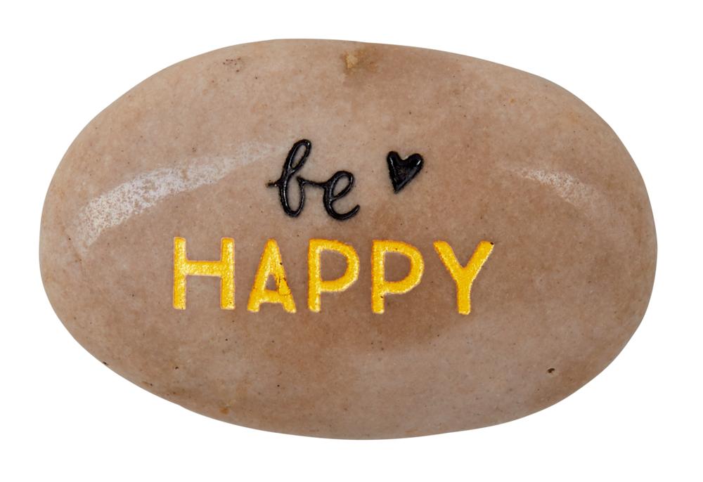 be happy, Glücksstein Viel Glück