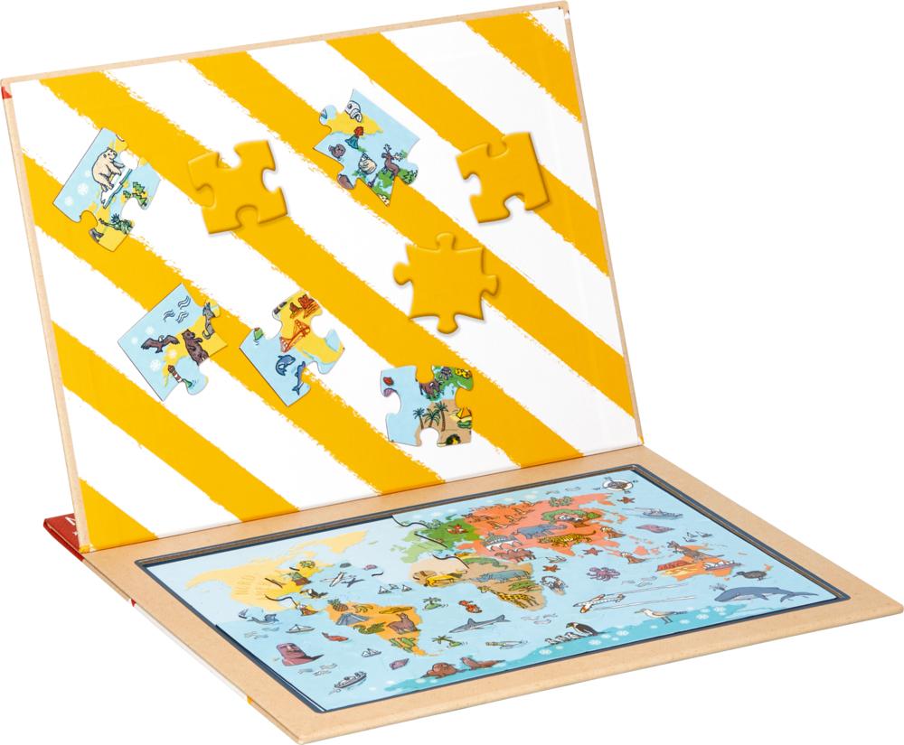 Magnetpuzzle Wir gehen auf Weltreise! Reisezeit Kids (30 Teile)