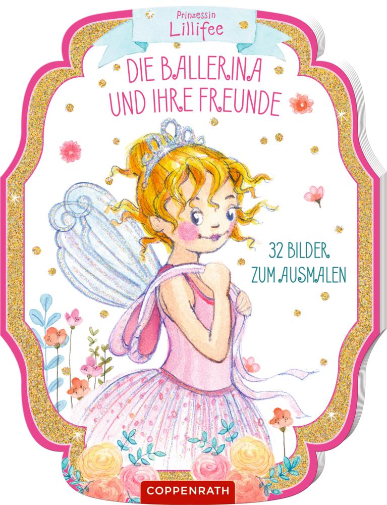Prinz. Lillifee: Die Ballerina und ihre Freunde (Ausmalbuch)