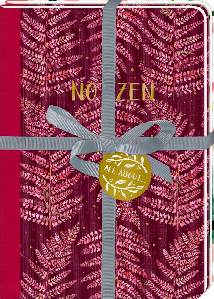 Notizhefte DIN A5 (2er Set) All about red & rosé