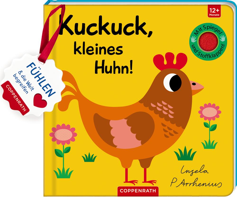 Mein Filz-Fühlbuch: Kuckuck, kleines Huhn!