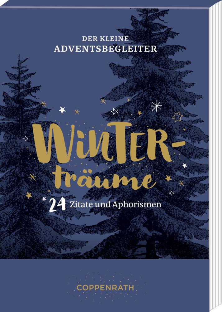 Der kleine Adventsbegleiter Winterträume, Aufstell-Adventskalender