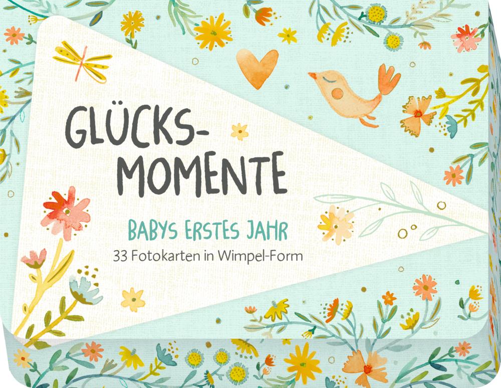 Fotokarten-Box: Glücksmomente - Babys erstes Jahr