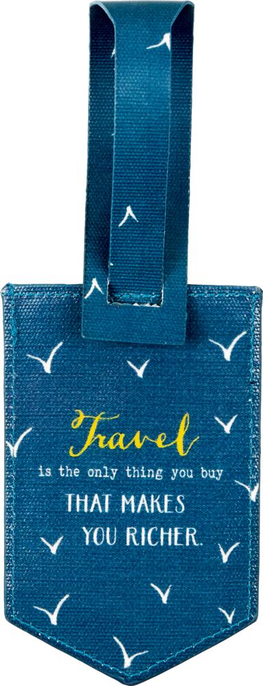 Kofferanhänger Travelling  Reisezeit