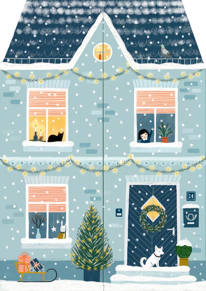 Zuhause im Advent, Aufstell-Adventskalender