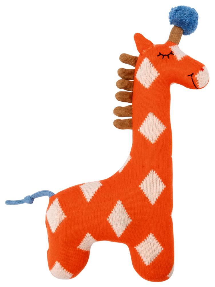 Kleines Kuschel-Stricktier Giraffe orange, Meine 1. Lieblingsstücke
