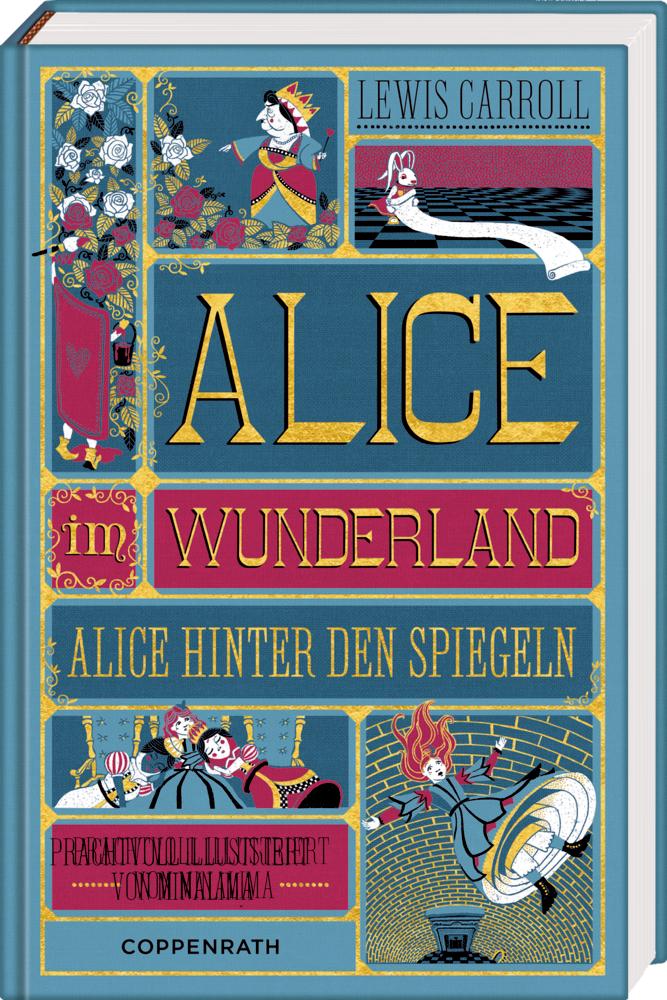 Alice im Wunderland/Alice hinter den Spiegeln (MinaLima)
