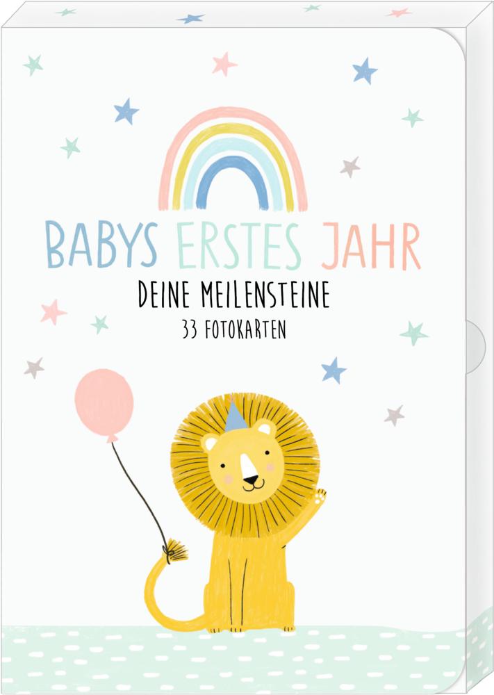 Fotokarten-Box: Meine kleine Welt - Babys erstes Jahr
