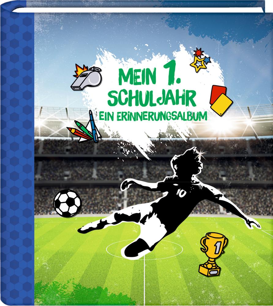 Eintragalbum Mein 1. Schuljahr - Erinnerungsalbum (Fußball)