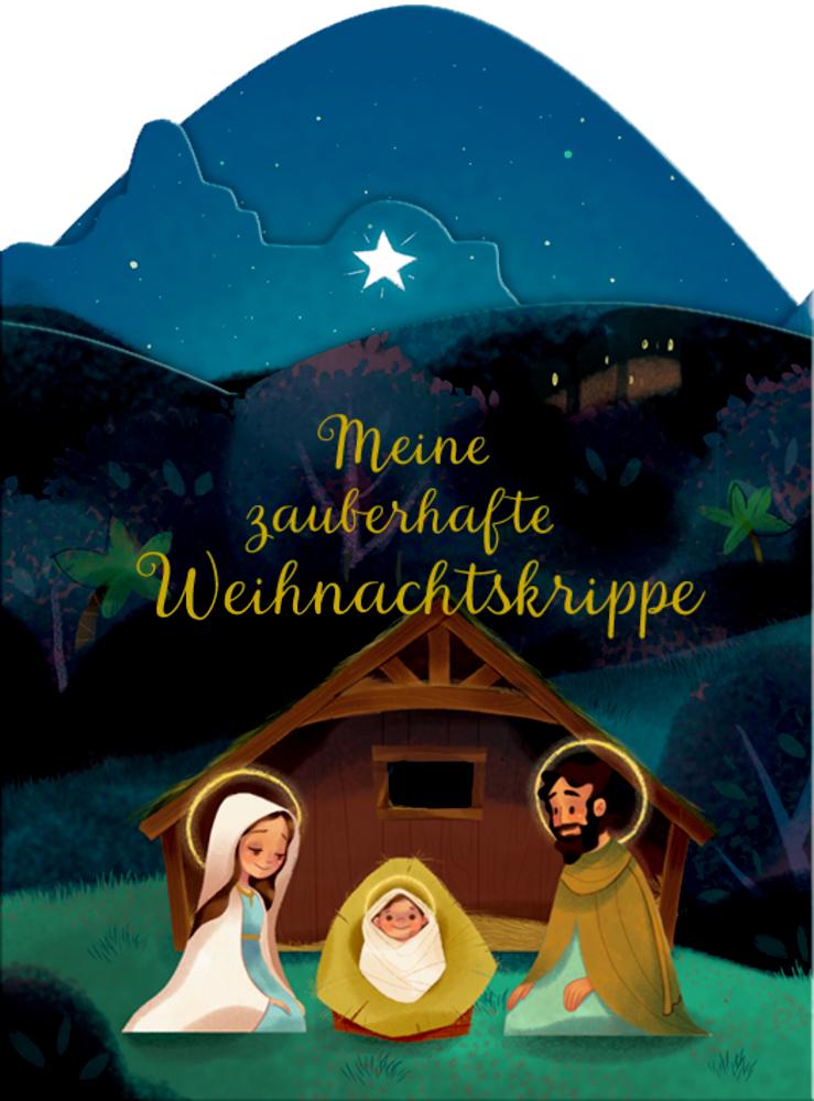 Meine zauberhafte Weihnachtskrippe, Aufstell-Adventskalender