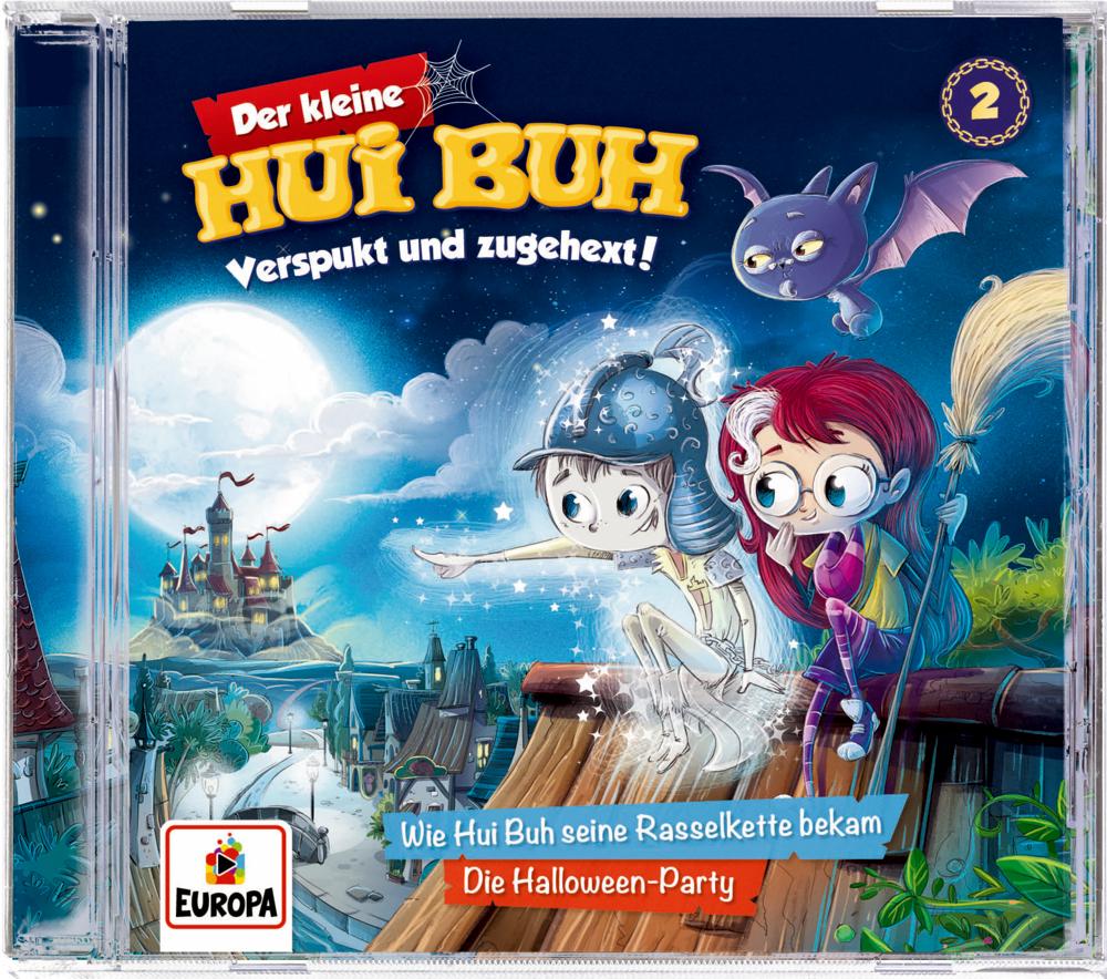 CD Hörspiel: Der kleine Hui Buh (Band 2) - Verspukt und zugehext!