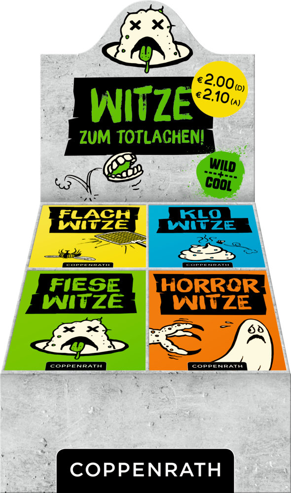 Wild+Cool: Witze zum Totlachen!