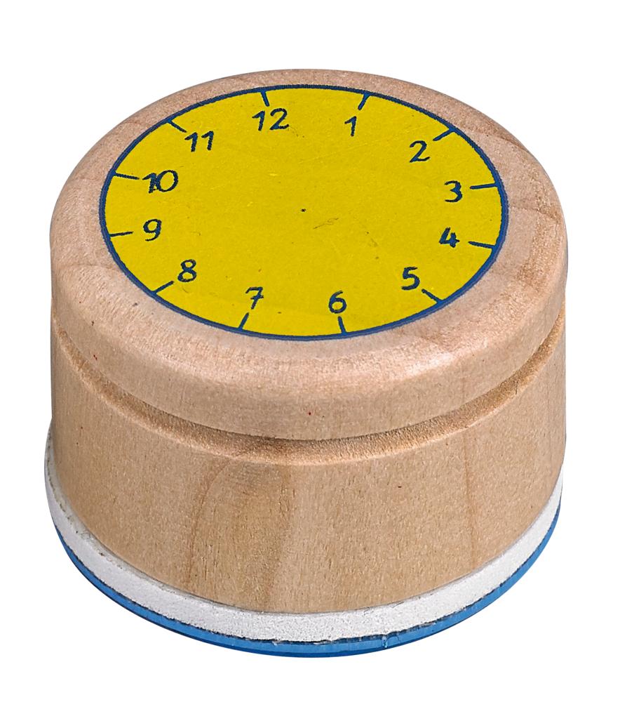 """Stempel """"Lern die Uhr"""" Bunte Geschenke"""