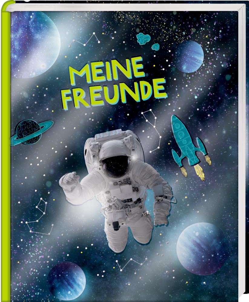 Freundebuch: Cosmic School - Meine Freunde (Astronaut)