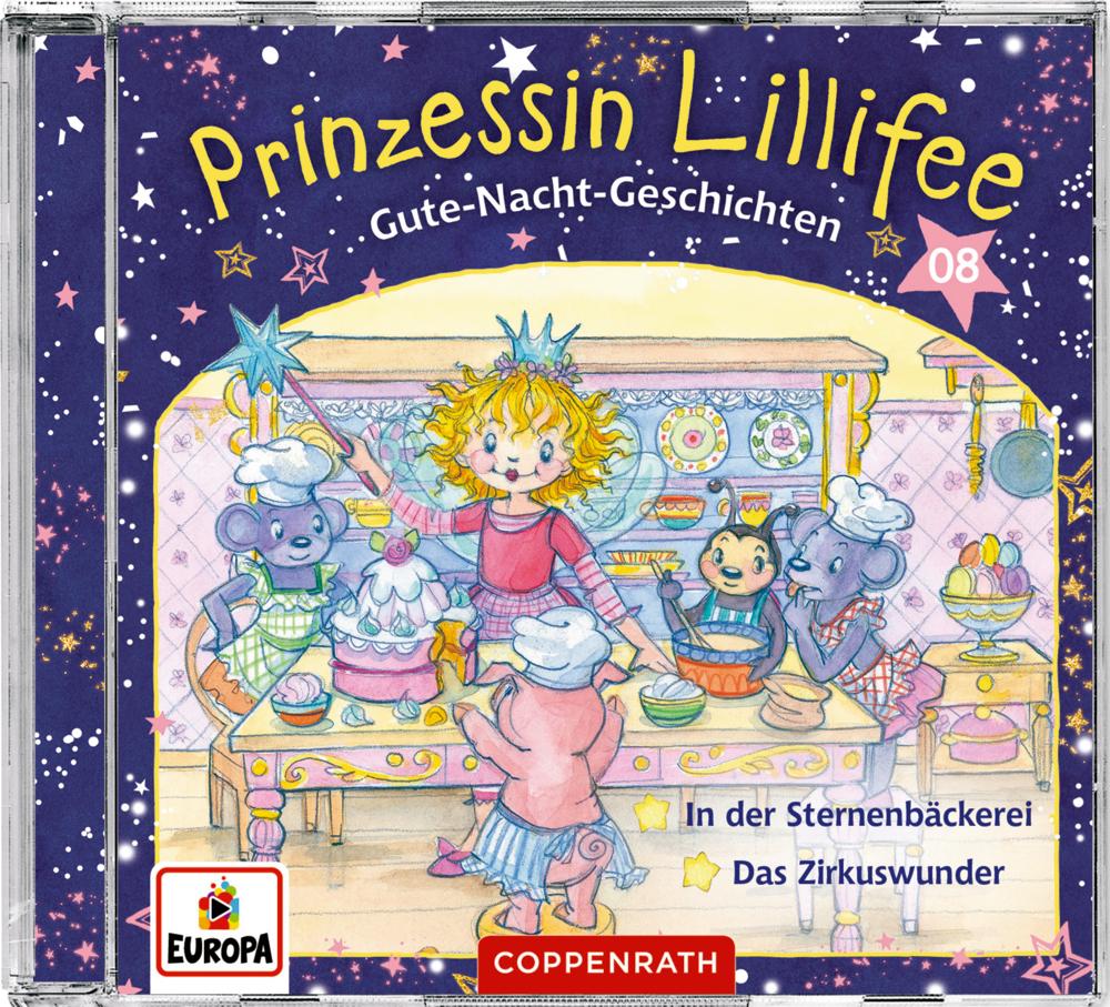 CD Hörspiel: Prinzessin Lillifee - Gute-Nacht-Geschichten (CD 8)