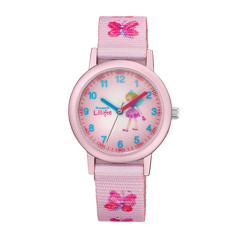 rosa Armbanduhr Prinzessin Lillifee (Marke Amor)
