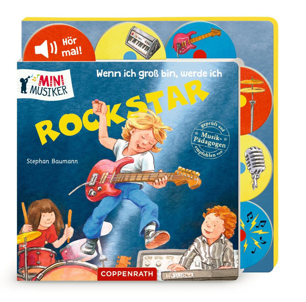 Wenn ich groß bin, werde ich Rockstar (Mini-Musiker/Soundbuch)