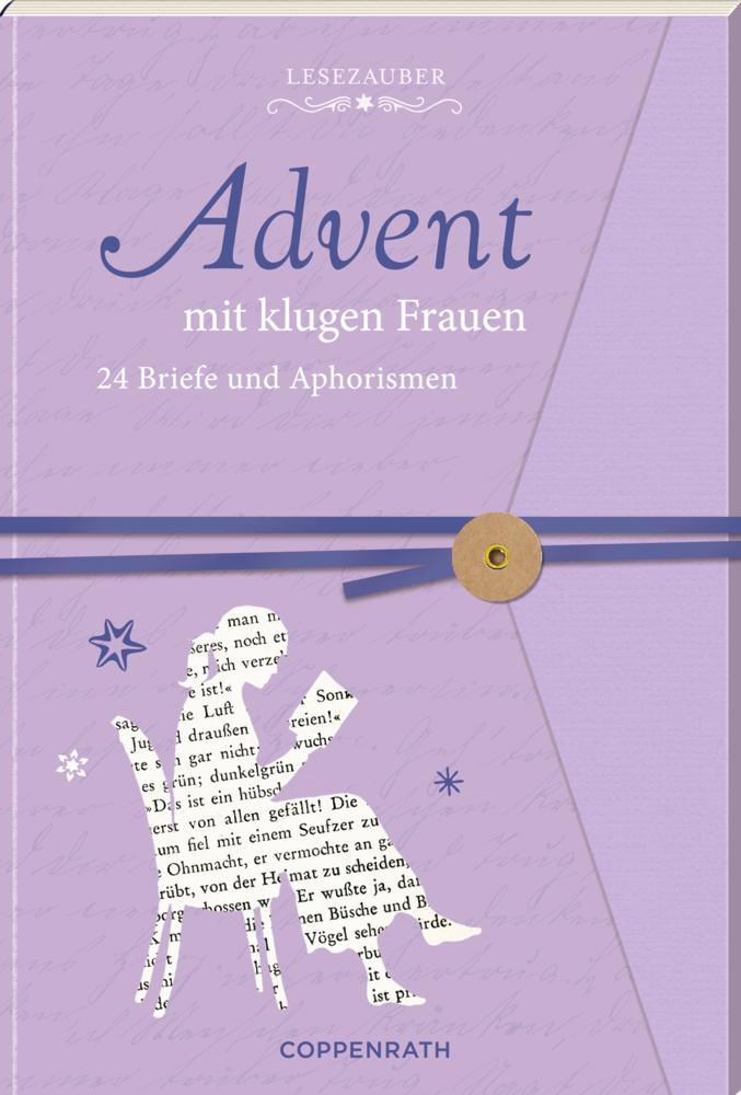 Lesezauber: Advent mit klugen Frauen - Briefbuch zum Aufschneiden