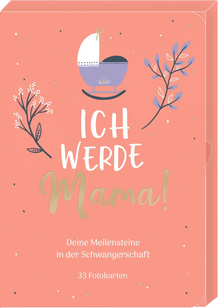 Meilensteinkarten - Ich werde Mama! (Schwangerschaft)