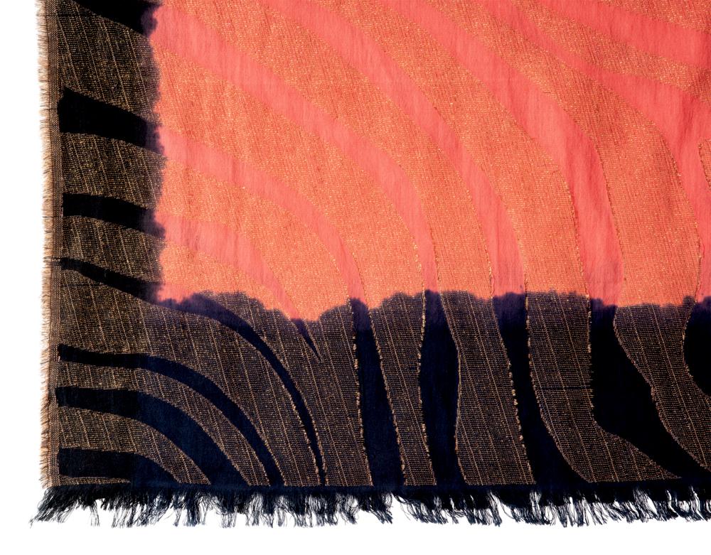 Schal Sunset Lieblingsstücke, korall (ca.70x180 cm)