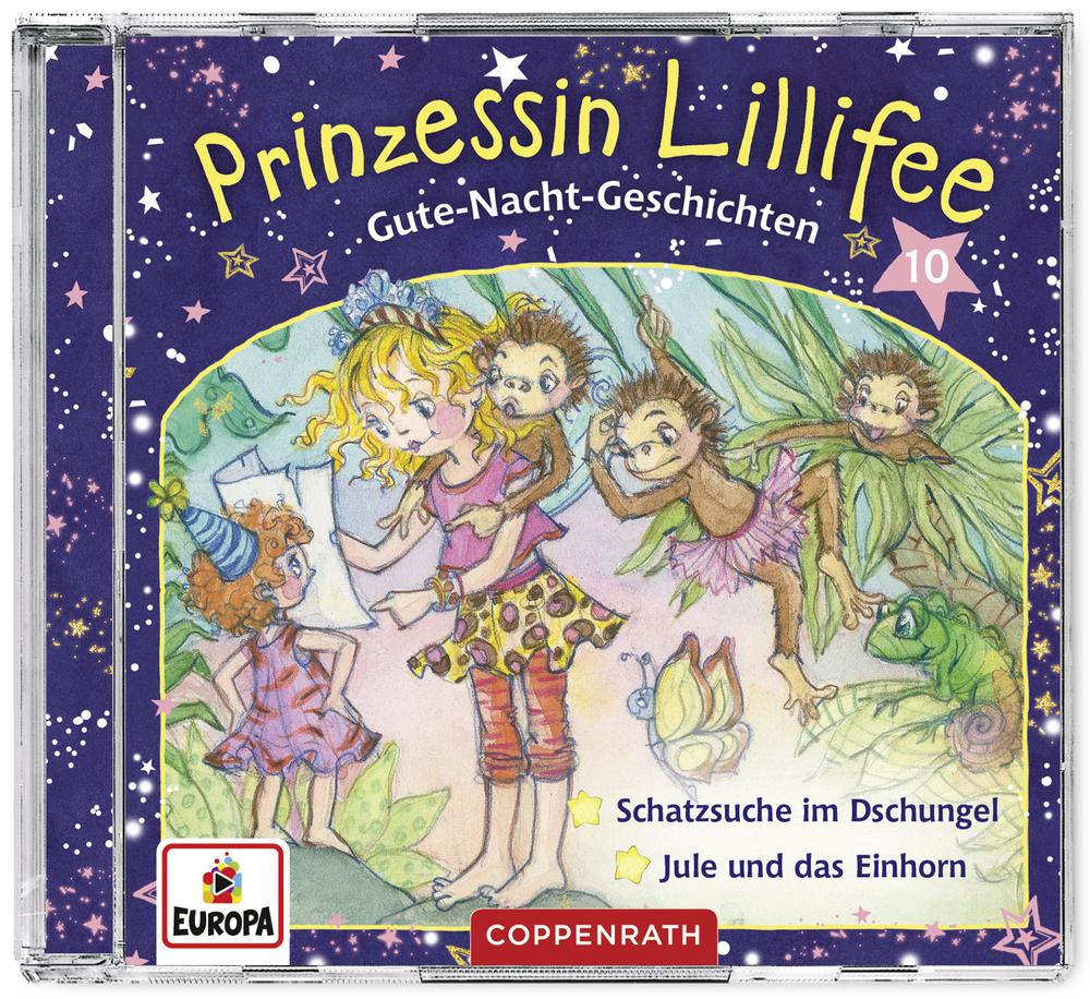 CD Hörspiel: Prinzessin Lillifee - Gute-Nacht-Geschichten (Band 10)