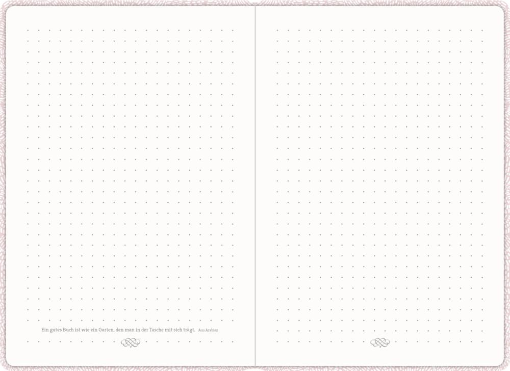 Notizbuch mit Kugelschreiber - All about rosé