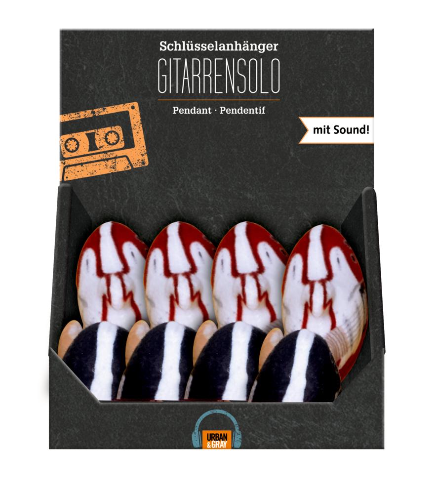 Schlüsselanhänger GITARRENSOLO Urban&Gray