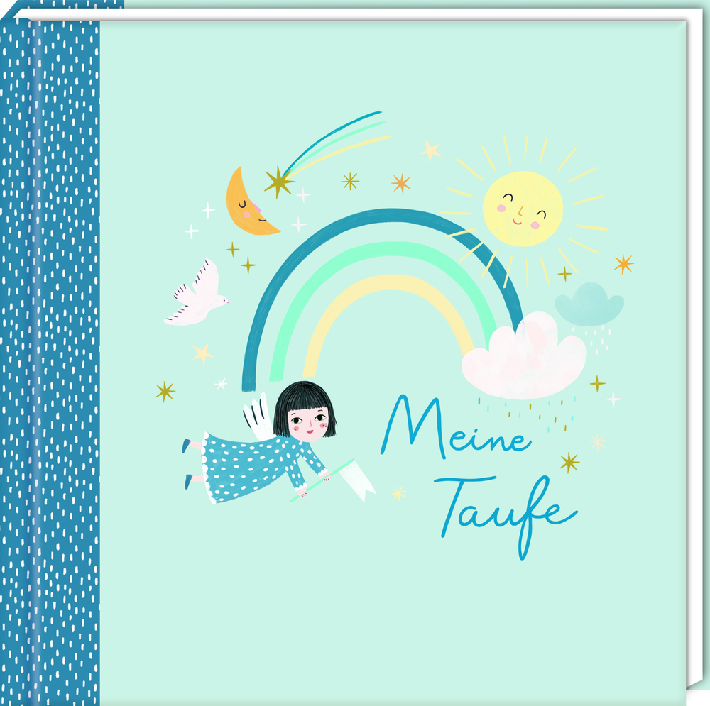Eintragalbum - Meine Taufe (blau)