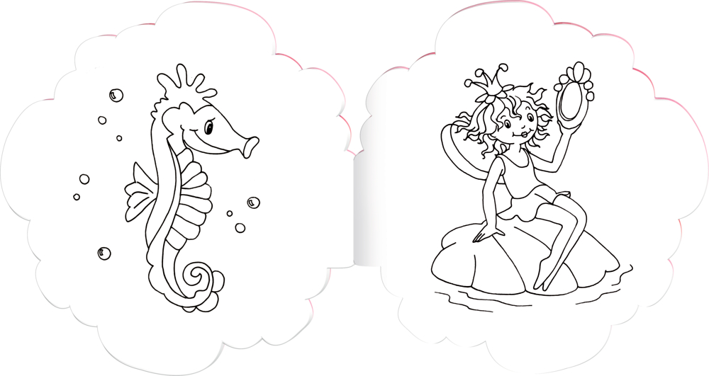 Malbuch Blütenzauber Prinzessin Lillifee