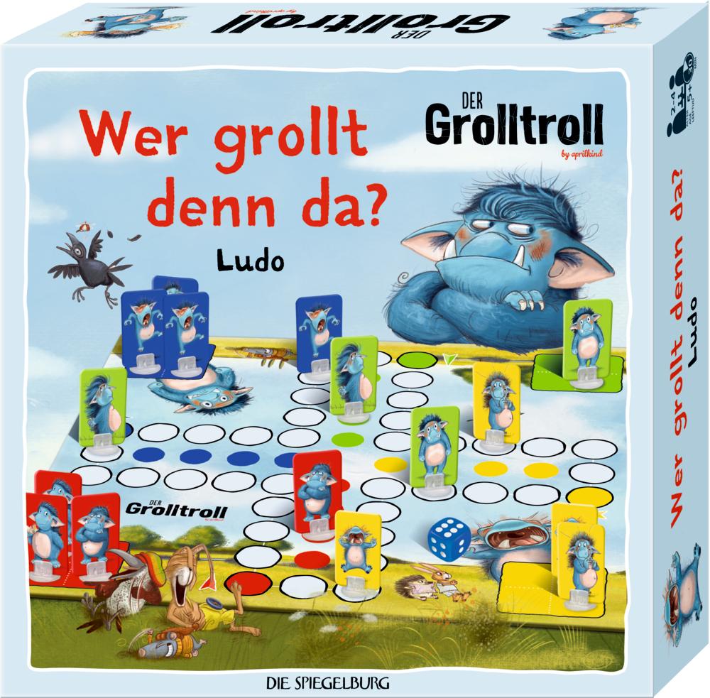 "Ludo-Spiel ""Wer grollt denn da?"" Der Grolltroll"