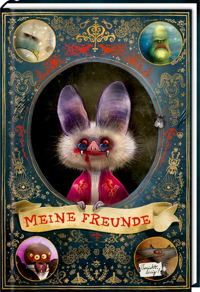 Freundebuch: Memento Monstrum - Meine Freunde