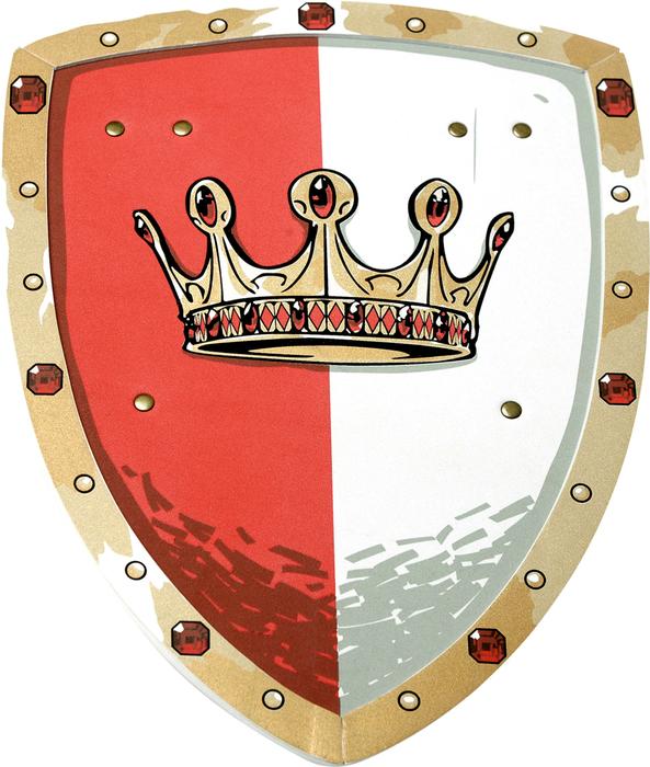 Schild, König Rotstein - LIONTOUCH